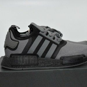 Adidas NMD R1 Grey Black Running Shoes FV1733